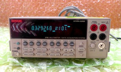 KEITHLEY 2700 MULTIMETER/DATA ACQUISITION SYSTEM PLC 控制器 變頻器