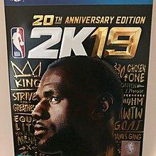 NBA 2K19 20週年紀念版 亞版 中英文合版 PS4 實體版 免運費  現貨供應中  現貨現貨現貨現貨現貨現貨現貨