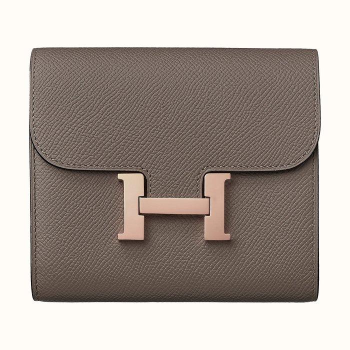 【歐洲連線代購】 HERMES Constance Compact wallet 零錢包 卡包 (收單至1/10)