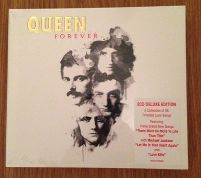正版2CD《皇后合唱團》永恆精選 進口盤/  Queen Forever [Deluxe Edition] 全新未拆