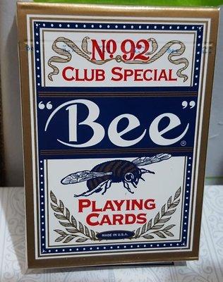 【天天魔法】【A105】正宗原廠~蜜蜂牌(藍背)~Bee Playing Card