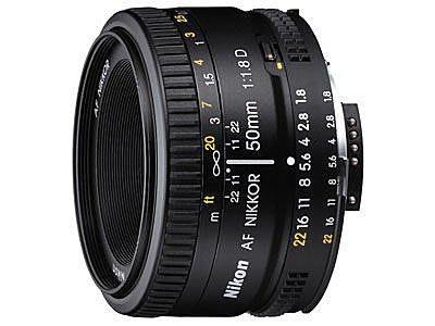 【明昌】【公司貨】NIKON AF 50mm f/1.8D 標準鏡頭 (50 mm f1.8)