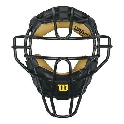 棒球世界Wilson  UMPIRE裁判鐵面罩 特價