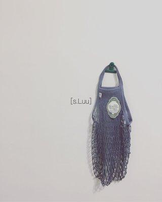 「s.Luu」現貨:法國品牌Filt漁網袋鐵灰M號短把 法國製造,日本愛用