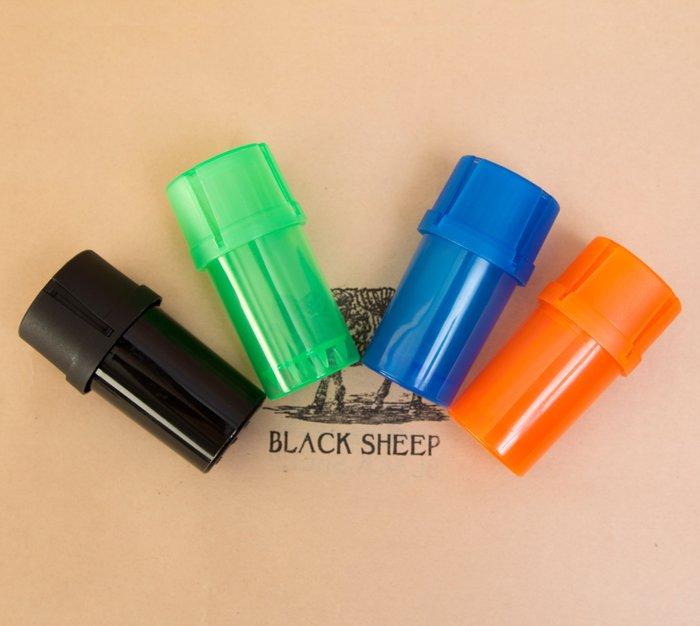黑羊選物 研磨收納罐 雙層設計 收納研磨一次到位 收納 方便攜帶使用  煙斗 捲菸 pipe raw paper