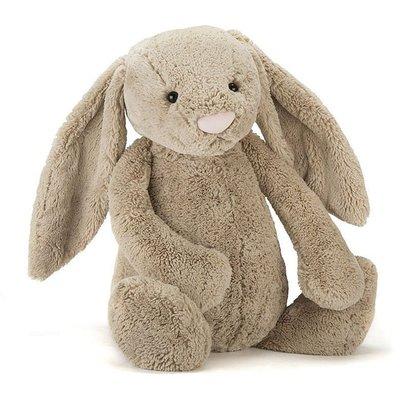 [小珊瑚]英國購入正品 108cm JELLYCAT 邦尼兔 安撫兔 Bashful Bunny 絨毛安撫玩偶