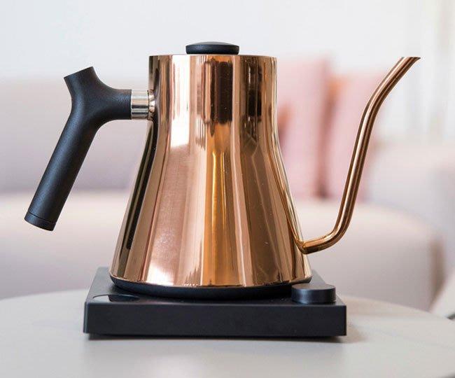 Tiamo咖啡生活館【HG2416】現貨 美國FELLOW Stagg EKG 900 電子溫控壺 玫瑰金900ml