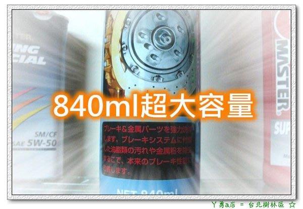 『樹林區』SPEED MASTER 汽+機車碟盤來令片噪音清除劑 (日本進口) 煞車不再吱吱叫=不賣假貨