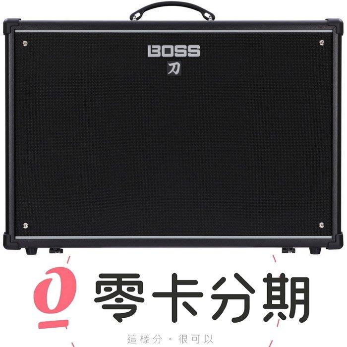 ☆唐尼樂器︵☆零卡分期 Boss KATANA-100 2x12 刀 100瓦電吉他音箱(強大效果器/音色儲存)