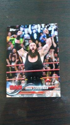 WWE  摔角巨星 布勞恩·史卓曼 Braun Strowman  小卡