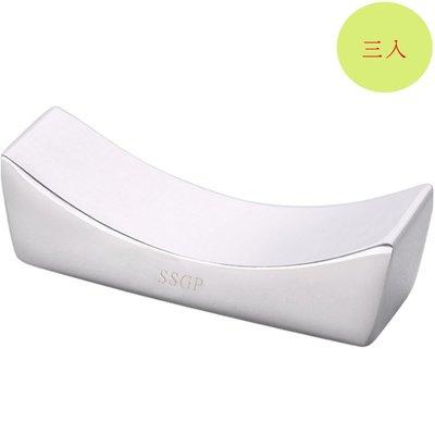 餐具304不鏽鋼筷子架筷子托筷枕(3入組)E130-1