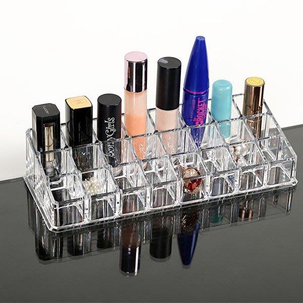 5Cgo【鴿樓】會員有優惠  40931188652 韓國桌面置物架透明化妝品收納盒架口紅整理盒護膚品大號儲物盒