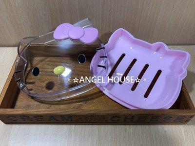 。☆ANGEL HOUSE☆。韓國進口**hello kitty**經典大臉香皂盒694