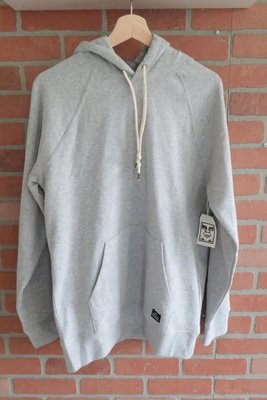 OBEY Lofty Creature Comfort II Pullover 帽T 灰色 素面 SIZE M