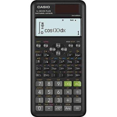 CASIO公司貨附發票工程計算機 FX-991ES PLUS(NEW)太陽能雙電力保固2年FX-991ES PLUSII