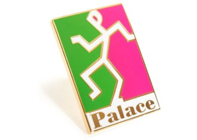 ☆AirRoom☆【現貨】2018AW Palace HEAD BADGE 別針 英國 Supreme