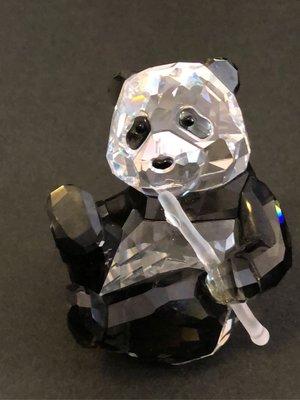 Swarovski panda 施華洛世奇