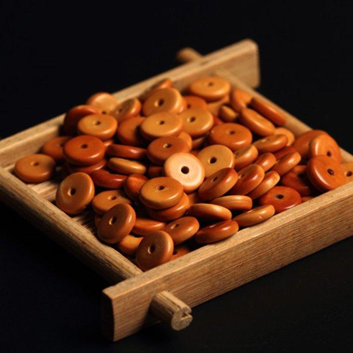 雜貨小鋪 橄欖核隔片DIY串珠金剛星月菩提佛珠手串手鏈項鏈文玩墊片