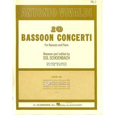 Kaiyi Music ♫Kaiyi Music♫Antonio vivaldi 10 bassoon concerti vol.1