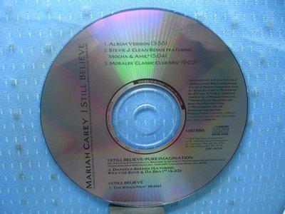 [無殼光碟]FI Mariah Carey I Still Believe [Singles + 4 Remixes]