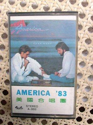 錄音帶~America--Hits專輯..收錄My Kind A Woman等..曲目如圖示