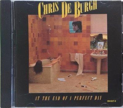 《絕版專賣》Chris De Burgh 克利斯迪博夫/At The End Of A Perfect Day (西德版