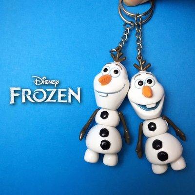 迪士尼 冰雪奇緣 雪寶 艾莎 愛紗 Elas 鑰匙圈 吊飾 扣環 公仔 玩具 娃娃