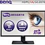 全新 BenQ  28吋 VA寬螢幕 不閃屏 低藍光技術 廣色域  VGA  HDMI 三年保固 附HDMI線