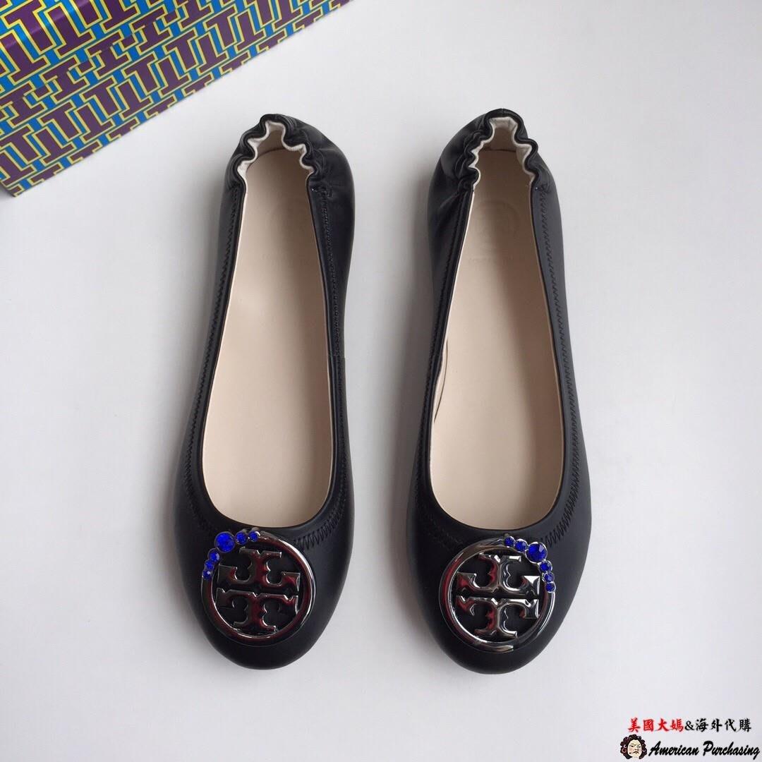 美國大媽代購TORY BURCH 美國輕奢時尚 跳舞娃娃鞋 平底休閒鞋 顏色4 美國代購