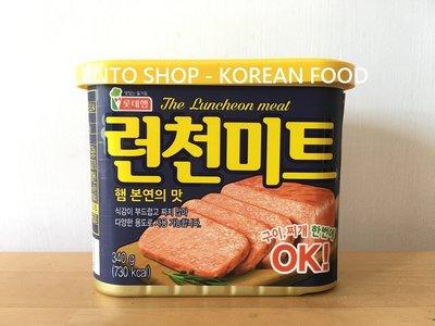 LENTO SHOP - 韓國 LOTTE 樂天 롯데 午餐肉 肉罐  Spam 스팸 런천미트  340克