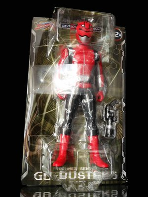 F-6 : 2012 特命戰隊 GO BUSTERS DX FIGURE 3 櫻田弘 RED  富貴玩具店