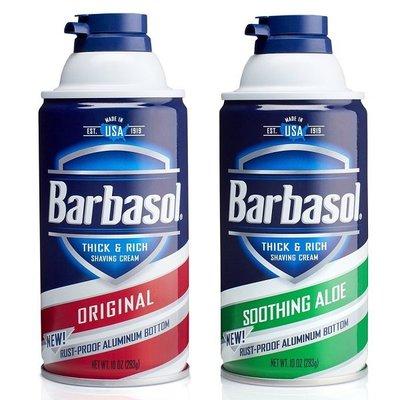 『山姆百貨』Barbasol 刮鬍泡 283g 兩款可選 美國原裝進口 每天出貨 門市自取 面交