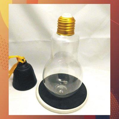 100支單價-310ml燈泡杯 創意珍珠奶茶燈泡瓶 透明非玻璃杯 珍奶杯 飲料杯 電燈泡冰飲杯 DIY燈泡藝術-01
