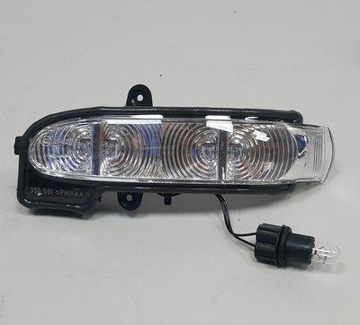 W203 2004-2007 後視鏡方向燈 照後鏡方向燈 (左邊 駕駛邊 晶鑽 4線 禮貌燈) 1038001