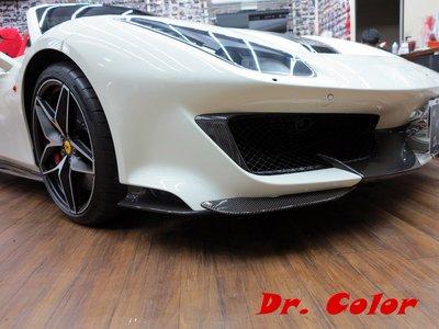 Dr. Color 玩色專業汽車包膜 Ferrari 488 Pista Spider 亮面carbon_全車霧黑套件