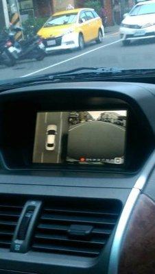 360度全景通行車環景輔助系統
