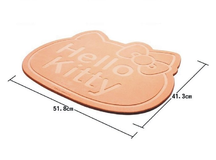 41+現貨免運費 含運費最便宜 HELLO KITTY 硅藻土 吸濕墊 腳踏墊 小日尼三 特價商品 正版授權 造型 踏墊
