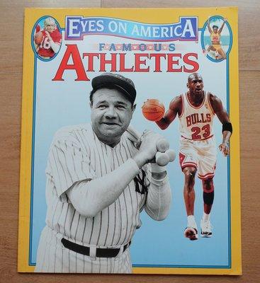 【英文童書】-- Eyes on America Famous Athletes  --***愛麗絲夢遊*** -英20