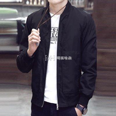 日和生活館 男外套男士外套韓版修身潮流帥氣夾克男裝青年薄款衣服S686