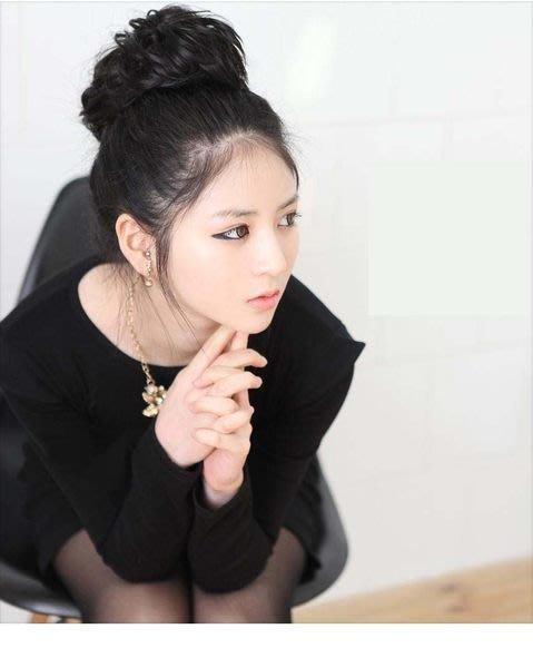 水媚兒假髮DLH60-K韓系捲髮髮包 抽繩髮包丸子頭 預購或現貨
