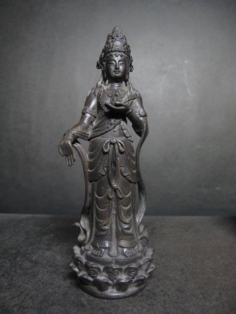老銅雕◎   虛空藏菩薩
