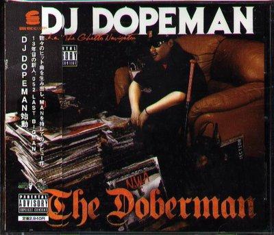 K - DJ DOPEMAN - The Doberman - 日版 - NEW