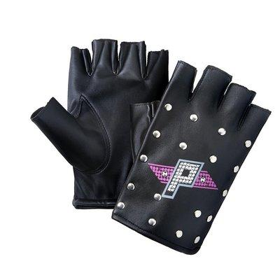☆阿Su倉庫☆WWE摔角 Paige Metal Studded Replica Gloves 鉚釘手套 熱賣特價中