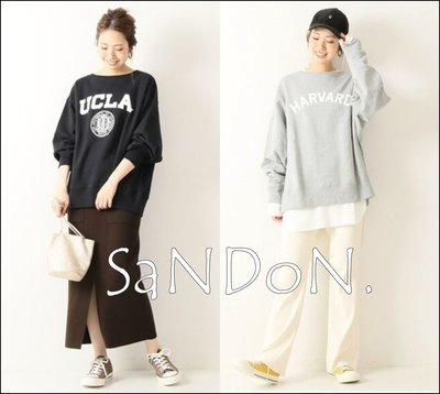 |SANDON|Spick and Span 寬領口設計/【GOOD ROCK SPEED】美式大學T 191126