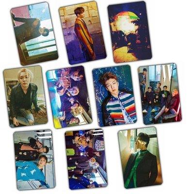 [星萌][預購] A4473  WINNER 水晶卡貼磨砂公交卡貼一套10張 KT795 悠遊卡貼