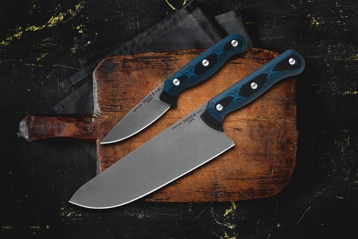 【angel 精品館 】Tops Knives DICER 8-3 COMBO 廚刀組CPM 35VN