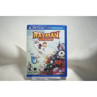 [耀西]全新 美版 SONY PSV 雷射超人:起源 Rayman Origins 含稅附發票