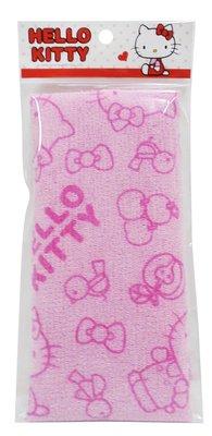 Hello Kitty KT沐浴巾 澡巾-粉藍二色KT-0388-1
