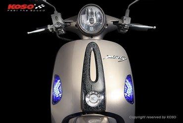 晶站 KOSO 高亮度箭頭造型 LED 前方向燈  MANY/魅力100/MANY110/MANY100 箭頭方向燈