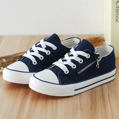 童鞋女童布鞋側拉鏈男滑帆夏季雅佳寶寶鞋廠傢直銷